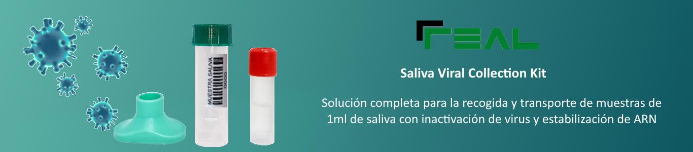 kit para la recolección de muestras de saliva